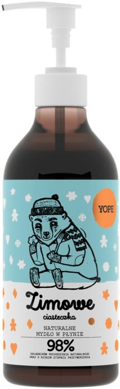 Szett - Yope Zimowe Ciasteczka (sh/gel/400ml + l/soap/500ml) — fotó N3