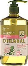 Parfüm, Parfüméria, kozmetikum Tusfürdő gél damaszkuszi rózsa kivonattal - O'Herbal Toning Shower Gel