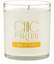 Parfüm, Parfüméria, kozmetikum Illatosított gyertya - Chic Parfum Agrumi Di Sicilia Candle