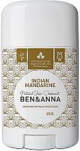"""Parfüm, Parfüméria, kozmetikum Deo-stift szódabikarbónával """"Indian Mandarine"""" - Ben & Anna Natural Soda Deodorant Indian Mandarine"""
