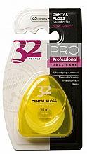 "Parfüm, Parfüméria, kozmetikum Fogselyem ""32 Pearls PRO"", sárga tokban - Modum 32 Gyöngy Dental Floss"