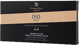 Helyreállító lotion keratinnal Dixidox DeLuxe № 4.4 - Divination Simone De Luxe Dixidox De Luxe Keratin Treatment Lotion — fotó N3
