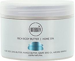 Parfüm, Parfüméria, kozmetikum Testápoló vaj - Naturativ Rich Body Butter Home Spa