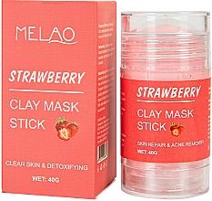 Parfüm, Parfüméria, kozmetikum Maszk stift arcra eperrel - Melao Strawberry Clay Mask Stick