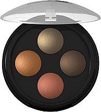 Parfüm, Parfüméria, kozmetikum Szemhéjfesték - Lavera Illuminating Eyeshadow Quattro