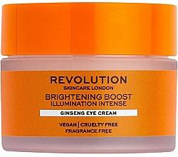 Parfüm, Parfüméria, kozmetikum Ragyogó szemkrém ginzenggel - Revolution Skincare Brightening Boost Ginseng Eye Cream