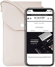 """Parfüm, Parfüméria, kozmetikum Telefontok """"Cross"""", bézs - Makeup Phone Case Crossbody Beige"""