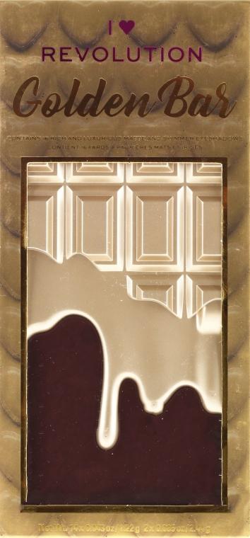Szemhéjfesték paletta, 16 árnyalat - I Heart Revolution Chocolate Eyeshadow Palette