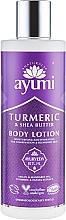 "Parfüm, Parfüméria, kozmetikum Testápoló ""Kurkuma és sheavaj"" - Ayumi Turmeric & Shea Butter Body Lotion"