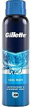 Parfüm, Parfüméria, kozmetikum Izzadásgátló dezodor - Gillette Cool Wave Antiperpirant Spray