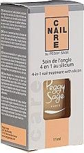 Parfüm, Parfüméria, kozmetikum Körömápoló 4 az 1-ben, keratinnal - Peggy Sage 4-in-1 Nail Treatment With Silicon