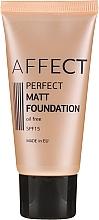 Parfüm, Parfüméria, kozmetikum Mattító alapozó - Affect Cosmetics Perfect Matt Foundation