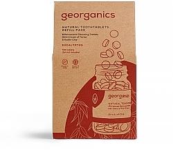 """Parfüm, Parfüméria, kozmetikum Fogtisztító tabletta """"Eukaliptusz"""" - Georganics Natural Toothtablets Eucalyptus (utántöltő)"""