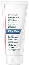 Parfüm, Parfüméria, kozmetikum Tápláló, puhító krém arcra és testre - Ducray Ictyane Emollient Nutritive Anti-Dryness Face & Body Cream