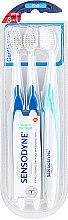 Parfüm, Parfüméria, kozmetikum Lágy fogkefe készlet - Sensodyne Gentle Care Soft Toothbruhs