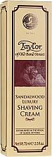 """Parfüm, Parfüméria, kozmetikum Borotva krém """"Szantál fa"""" - Taylor Of Old Bond Street Sandalwood Luxury Shaving Cream (tubusban)"""