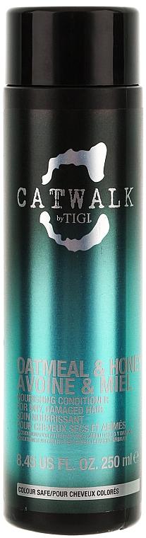 Helyreállító hajkondicionáló - Tigi Catwalk Oatmeal & Honey Conditioner