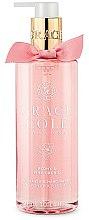 """Parfüm, Parfüméria, kozmetikum Folyékony szappan """"Bazsarózsa és rózsaszín orchidea"""" - Grace Cole Peony & Pink Orchid Liquid Hand Soap"""