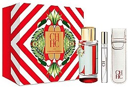 Parfüm, Parfüméria, kozmetikum Carolina Herrera CH L`Eau - Szett (edt/100ml + edt/10ml+travel/case)