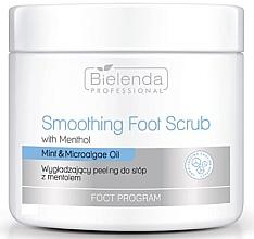 Parfüm, Parfüméria, kozmetikum Puhító lábradír mentollal - Bielenda Professional Foot Program