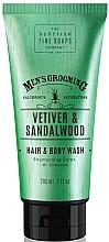 """Parfüm, Parfüméria, kozmetikum Sampon-tusfürdő """"Vetiver és szantál"""" - Scottish Fine Soaps Vetiver & Sandalwood Hair Body Wash"""