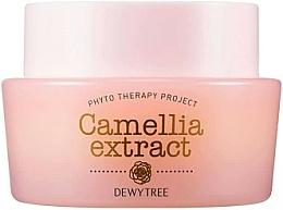 Parfüm, Parfüméria, kozmetikum Arckrém shea vajjal és magadámiamag olajjal - Dewytree Phyto Therapy Camellia Extract Cream