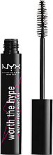 Parfüm, Parfüméria, kozmetikum Szempillaspirál - NYX Professional Makeup Worth The Hype Waterproof Mascara