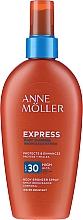 Parfüm, Parfüméria, kozmetikum Napvédő gyorsbarnító spray - Anne Moller Express Body Bronzer Spray SPF30