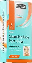 Parfüm, Parfüméria, kozmetikum Pórustisztító tapasz arcra - Beauty Formulas Deep Cleansing Face Pore Strips