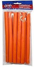 Parfüm, Parfüméria, kozmetikum Professzionális puha hajcsavaró 16/210, narancssárga - Ronney Professional Flex Rollers