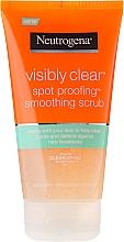 Parfüm, Parfüméria, kozmetikum Arctisztító - Neutrogena Visibly Clear Spot Proofing Smoothing Scrub