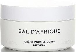 Parfüm, Parfüméria, kozmetikum Byredo Bal D`Afrique - Testkrém