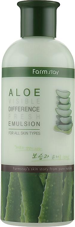 Frissítő emulzió aloe - FarmStay Visible Difference Fresh Emulsion Aloe