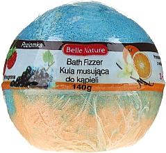 Parfüm, Parfüméria, kozmetikum Pezsgő fürdőbomba, narancssárga-világoskék - Belle Nature Bath Fizzer