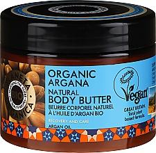 Parfüm, Parfüméria, kozmetikum Testápoló krém-vaj - Planeta Organica Organic Argana Natural Body Butter
