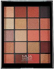 Parfüm, Parfüméria, kozmetikum Szemhéjfesték paletta - MUA 20 Shade Eyeshadow Palette