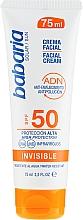 Parfüm, Parfüméria, kozmetikum Napvédő arckrém - Babaria Invisible Facial Sun Cream Spf 50
