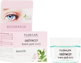 Parfüm, Parfüméria, kozmetikum Tápláló szemkörnyékápoló shea vajjal - Floslek