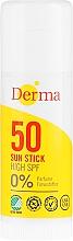 Parfüm, Parfüméria, kozmetikum Napvédő stift - Derma Sun Sun Stick High SPF50