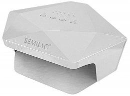 Parfüm, Parfüméria, kozmetikum UV/LED-lámpa, fehér - Semilac Diamant 36W
