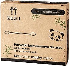 Parfüm, Parfüméria, kozmetikum Fültisztító pálcika, bambusz - Zuzii Bamboo Cotton Buds