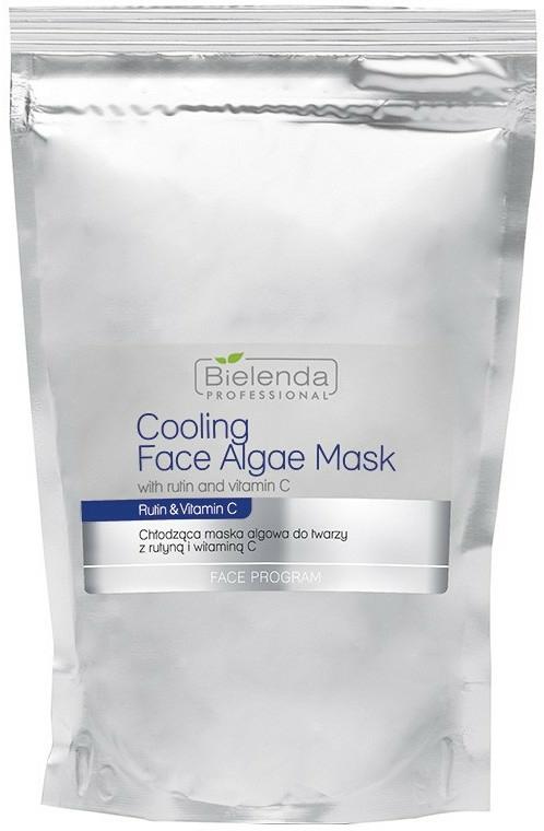 Alginát arcmaszk rutinnal és C-vitaminnal - Bielenda Professional Cooling Face Algae Mask (tartalék blokk)
