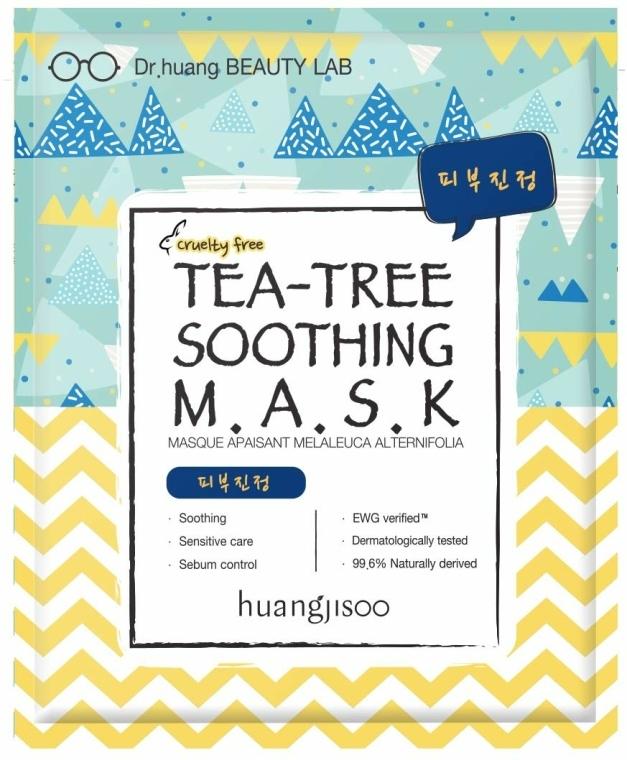 Nyugtató szövetmaszk - Huangjisoo Tea-Tree Soothing Mask