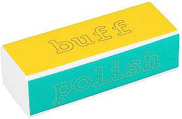 Parfüm, Parfüméria, kozmetikum Buffer körömre - Tools For Beauty 4-way Nail Buffer Block Normal