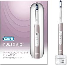 Parfüm, Parfüméria, kozmetikum Elektromos fogkefe - Oral-B Pulsonic SlimOne 4200 Rose Gold
