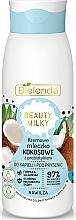 Parfüm, Parfüméria, kozmetikum Tusfürdő és fürdő tej - Bielenda Beauty Milky Moisturizing Coconut Shower & Bath Milk