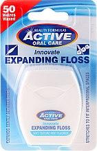 Parfüm, Parfüméria, kozmetikum Lágy fogselyem mentával és fluoriddal - Beauty Formulas Active Oral Care Expanding Floss Mint With Fluor 50m