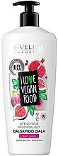 """Parfüm, Parfüméria, kozmetikum Testápoló balzsam """"Füge és gránátalma"""" - Eveline I Love Vegan Food Body Balm"""