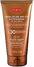 Parfüm, Parfüméria, kozmetikum Öregedésgátló napvédő dekoltázs- és arckrém - Pupa Anti-Aging Sunscreen Cream SPF 30