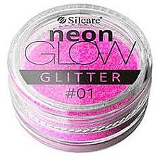 Parfüm, Parfüméria, kozmetikum Köröm csillámok - Silcare Brokat Neon Glow